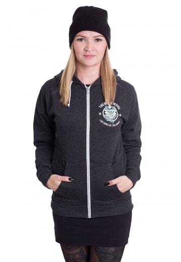 The Ghost Inside - Roses Heather Black - Zipper