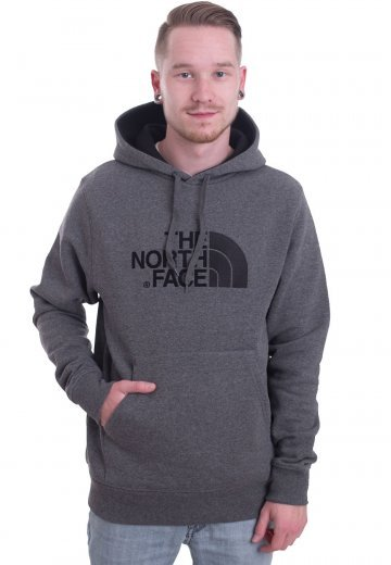 6b34162ab The North Face - Drew Peak TNF Medium Grey Heather/Black - Hoodie