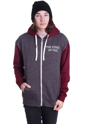The Story So Far - Panther Charcoal/Burgundy - Zipper