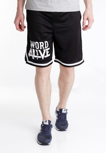 The Word Alive - Logo Striped - Shorts