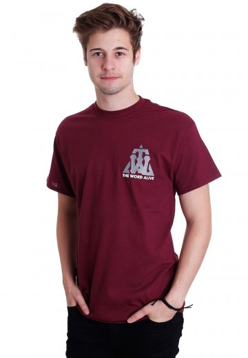 The Word Alive - Rather Die Maroon - T-Shirt
