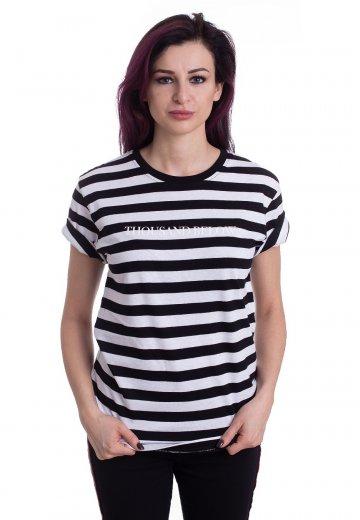 Thousand Below - Logo Striped - T-Shirt