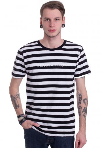Thousand Below - Logo Striped - T-Shirt