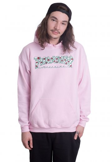 a046d79328e7 Thrasher - Roses Light Pink - Hoodie - Streetwear Shop - Impericon.com AU