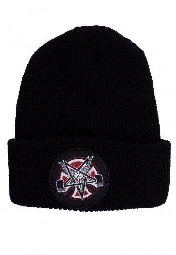Thrasher x Independent - Thrasher Pentagram Cross Black - Beanie