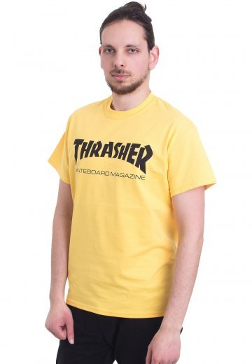 Thrasher - Thrasher Skate-Mag Yellow - T-Shirt