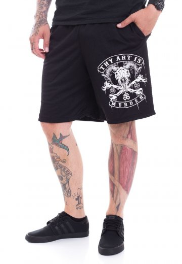 Thy Art Is Murder - Baphomet Skull Zip - Shorts