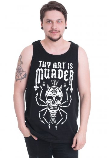 Thy Art Is Murder - Skull Spider - Tank
