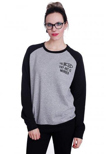 Thy Art Is Murder - TWKA Sportsgrey/Black - Sweater