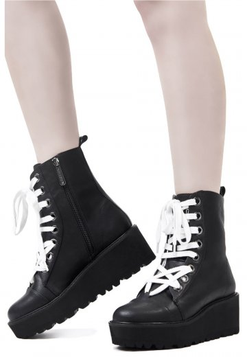 Killstar - Tomb Travel Black - Girl Shoes