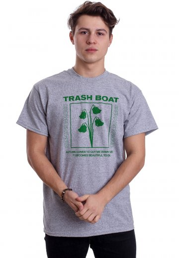 Trash Boat - Beautiful To Die Sportsgrey - T-Shirt