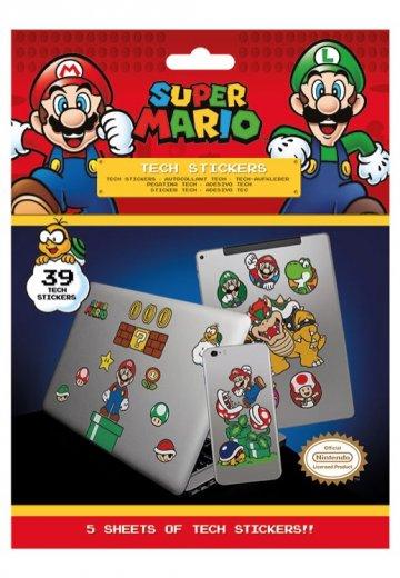 Super Mario Mushroom Kingdom Sticker Impericon Com Worldwide