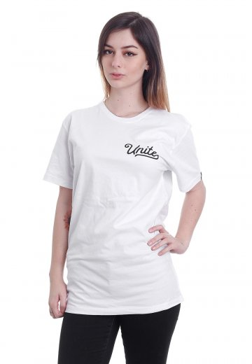 Unite Clothing - Grace White - T-Shirt