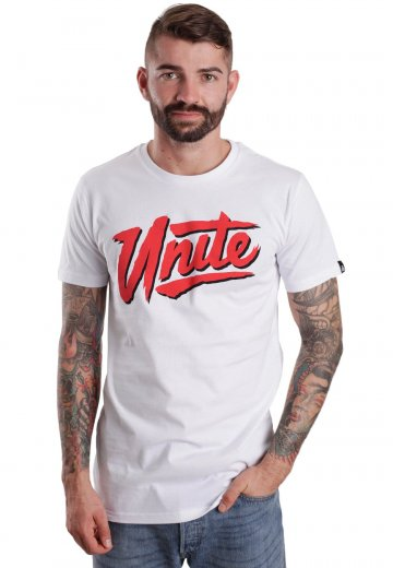 f043da46241f Unite Clothing - New Wave White - T-Shirt - Streetwear Shop ...