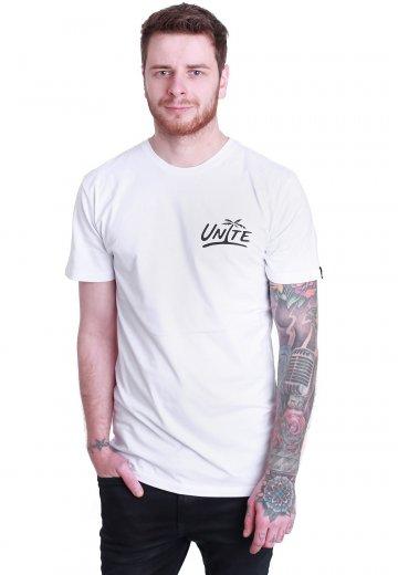 Unite Clothing - Palm White - T-Shirt