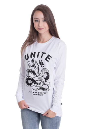 Unite Clothing - Viper White - Longsleeve