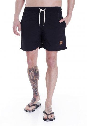 Urban Classics Block Swim BlackBlack Board Shorts