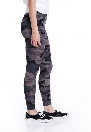 12f8099ab0a2cb Urban Classics - Camo Dark Camo - Leggings - Streetwear Shop -  Impericon.com US