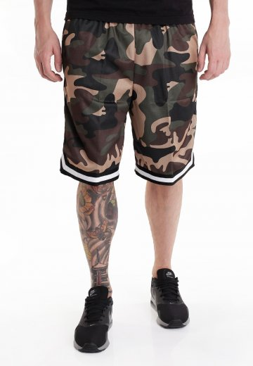 f0261455d8 Urban Classics - Camo Stripes Woodcamo/Black/White - Shorts ...