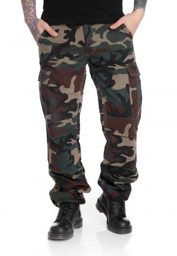 Urban Classics - Camouflage Cargo Wood - Pants
