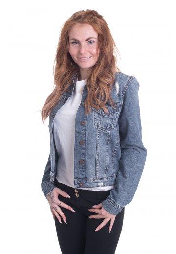 a51dd7b22701d Urban Classics - Denim Ocean Blue - Jeans Jacket - Streetwear Shop ...