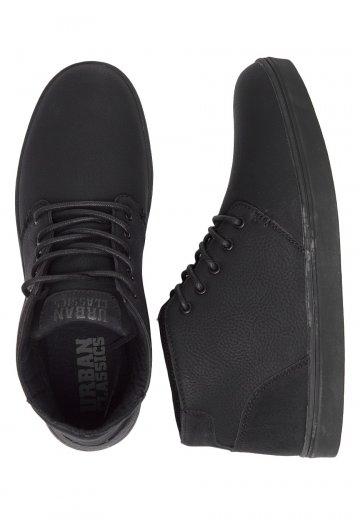 Urban Classics - Hibi Mid Black/Black - Shoes