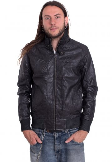 Urban Classics - Leather Imitation - Leather Jacket