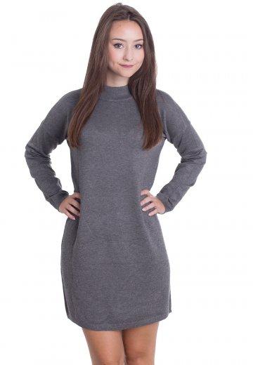 Urban Classics - Oversized Turtleneck Grey - Dress