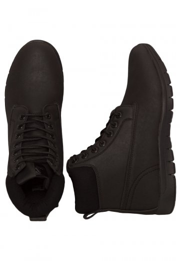 Urban Classics - Runner Boots Black/Black/Black - Shoes