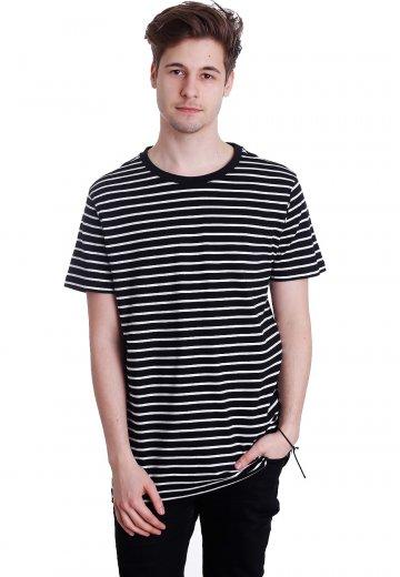 361e072ebe60 Urban Classics - Striped Black White - T-Shirt - Streetwear Shop -  Impericon.com UK
