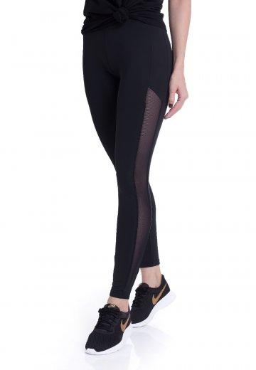 5a28ee4e69082 Urban Classics - Tech Mesh Stripe - Leggings - Streetwear Shop ...