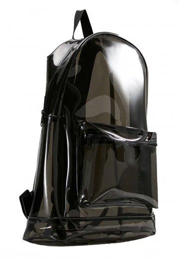 Urban Classics Transparent Black Backpack