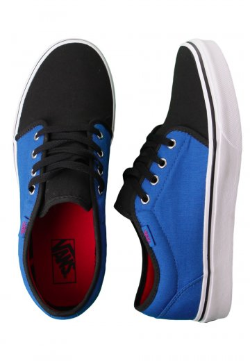 Vans - 106 Vulcanized Nautical Blue Black - Shoes - Impericon.com US e892e39b7