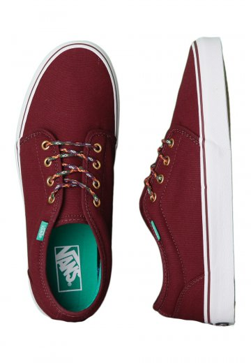 fdd5eecb50 Vans - 106 Vulcanized Heavy Canvas Port Royal Tribe Lace - Shoes -  Impericon.com UK