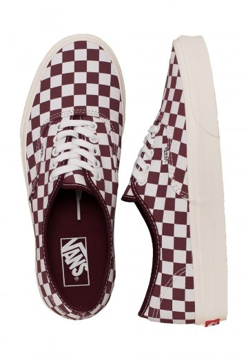 f6d82f6df5 Vans - Authentic Checkerboard Port Royale Marshmallow - Girl Shoes -  Impericon.com Worldwide