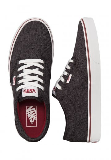 d29810da7aa Vans - Atwood Black Red - Shoes - Impericon.com AU