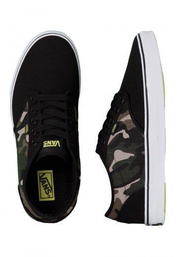 cdef6d958b06e Vans - Atwood Camo Black/Sulphur - Schuhe - Impericon.com DE