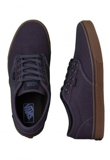 c1429c88963801 Vans - Atwood Canvas Navy Gum - Shoes - Impericon.com AU