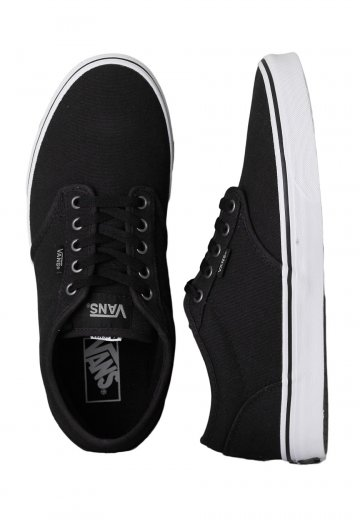 fac1b2dde5fe Vans - Atwood Weather Canvas Black White - Shoes - Impericon.com Worldwide