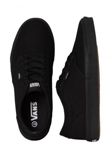36bccbef317c Vans - Atwood Canvas Black Black - Shoes - Impericon.com AU