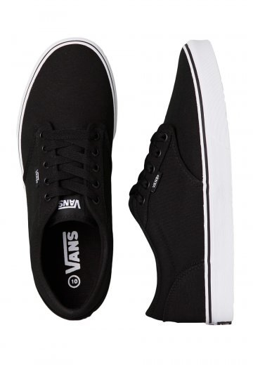 f9d5fae6355 Vans - Atwood Canvas Black White - Shoes - Impericon.com Worldwide