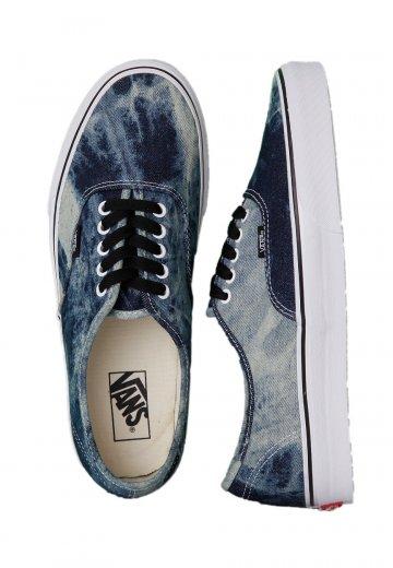 26184787b59 Vans - Authentic Acid Denim Black True White - Shoes - Impericon.com UK