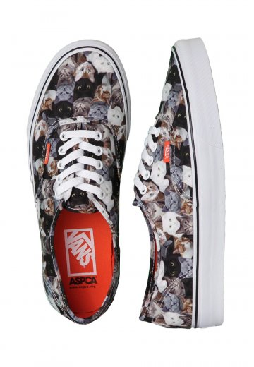 7020643a54 Vans - Authentic ASPCA Cats - Girl Shoes - Impericon.com UK