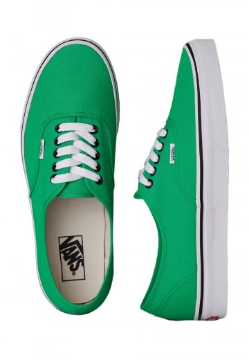 Vans - Authentic Bright Green Black - Shoes - Impericon.com UK e6c344154