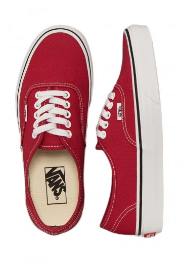 923bf1926ee4 Vans - Authentic Crimson True White - Shoes - Impericon.com US
