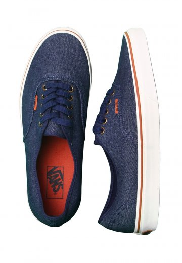 Vans Authentic Denim Dark BlueMarshmallow Shoes