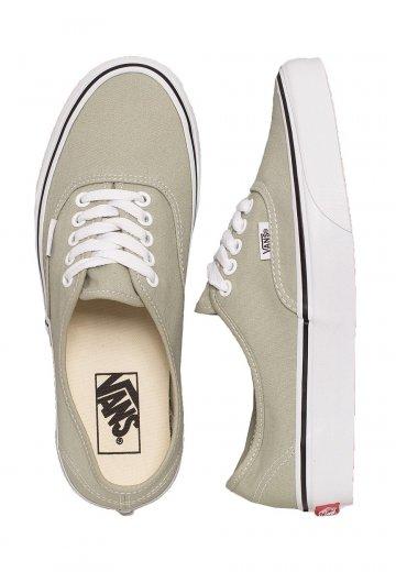 cc0badc8c011b2 Vans - Authentic Desert Sage True White - Girl Shoes - Impericon.com UK