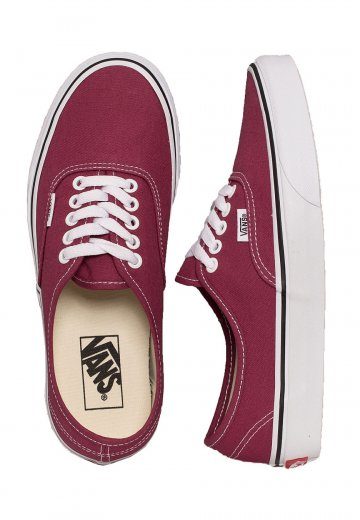 1585e924b11 Vans - Authentic Dry Rose True White - Girl Shoes - Impericon.com US