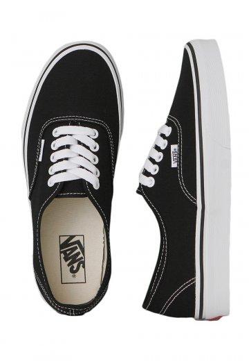 Vans - Authentic Black White - Girl Schuhe - Impericon.com DE 823d78a2c