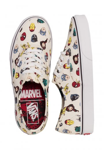 Vans x Marvel - Authentic Heads Multi - Shoes